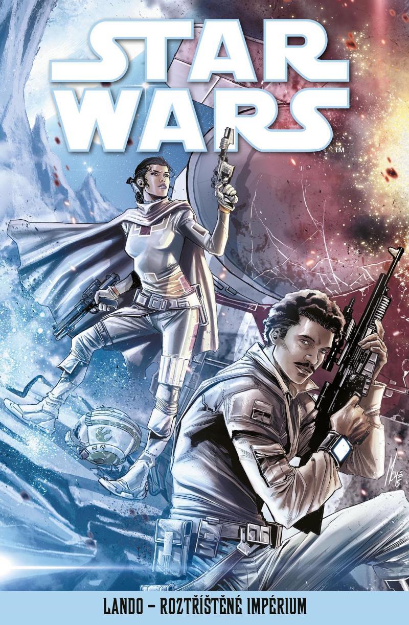 STAR WARS-LANDO-ROZTŘÍŠTĚNÉ IMPÉRIUM