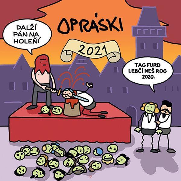 2021 OPRÁSKI NÁSTĚNNÝ