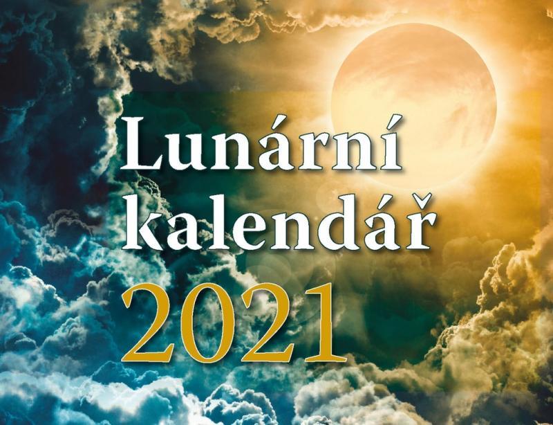 LUNÁRNÍ KALENDÁŘ - STOLNÍ KALENDÁŘ 2021