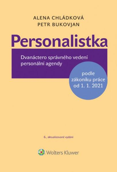 PERSONALISTKA PODLE ZÁKONÍKU PRÁCE OD 1.1.2021