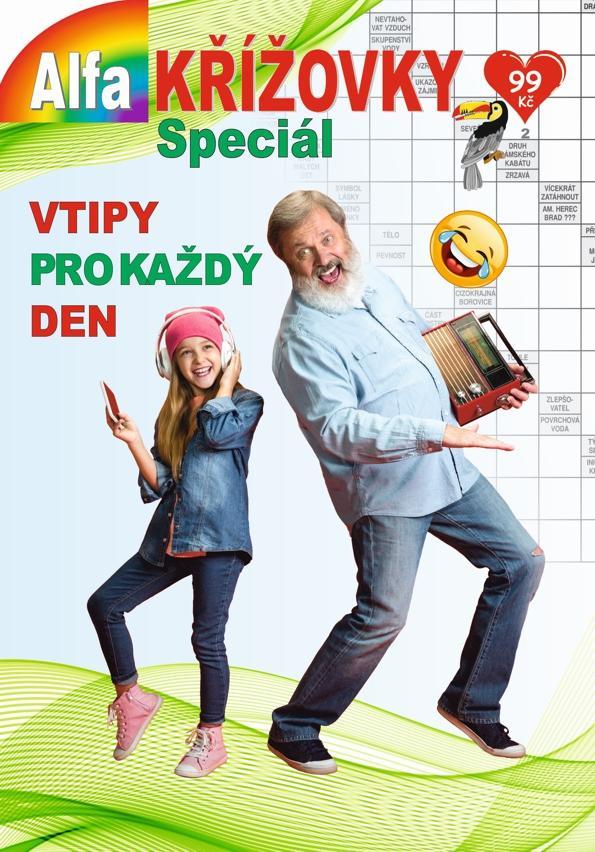 KŘÍŽOVKY SPECIÁL 2/2020 VTIPY PRO KAŽDÝ DEN