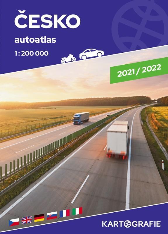 ČESKO 1:200 000 AUTOATLAS 2021/2022