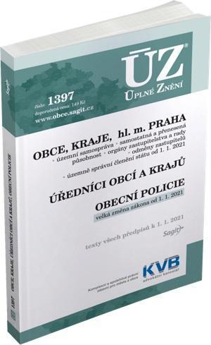 ÚZ 1397 OBCE,KRAJE,HL.M.PRAHA K 1.1.2021/SAGIT