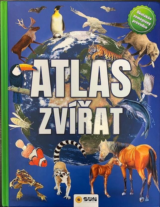 Atlas zvířat - Školákův zeměpisný průvodce