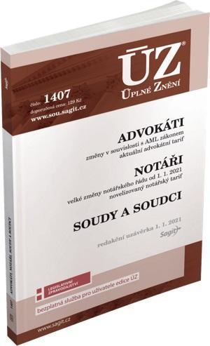 ÚZ 1407 ADVOKÁTI, NOTÁŘI, SOUDY K 1/1/21