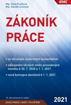 ZÁKONÍK PRÁCE 2021/ANAG