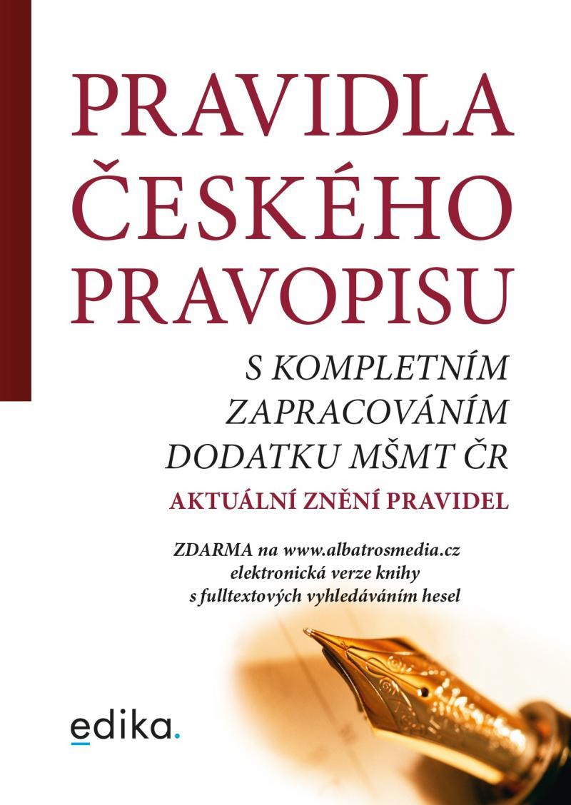 PRAVIDLA ČESKÉHO PRAVOPISU/EDIKA