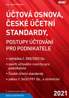 ÚČTOVÁ OSNOVA, ČESKÉ PČETNÍ STANDARDY 2021