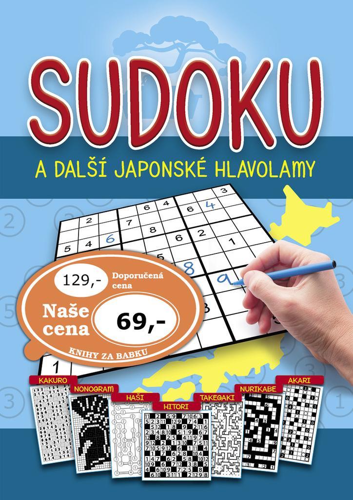 SUDOKU A DALŠÍ JAPONSKÉ HLAVOLAMY/BOOKMEDIA