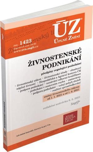 ÚZ 1423 ŽIVNOSTENSKÉ PODNIKÁNÍ K 1/1/21