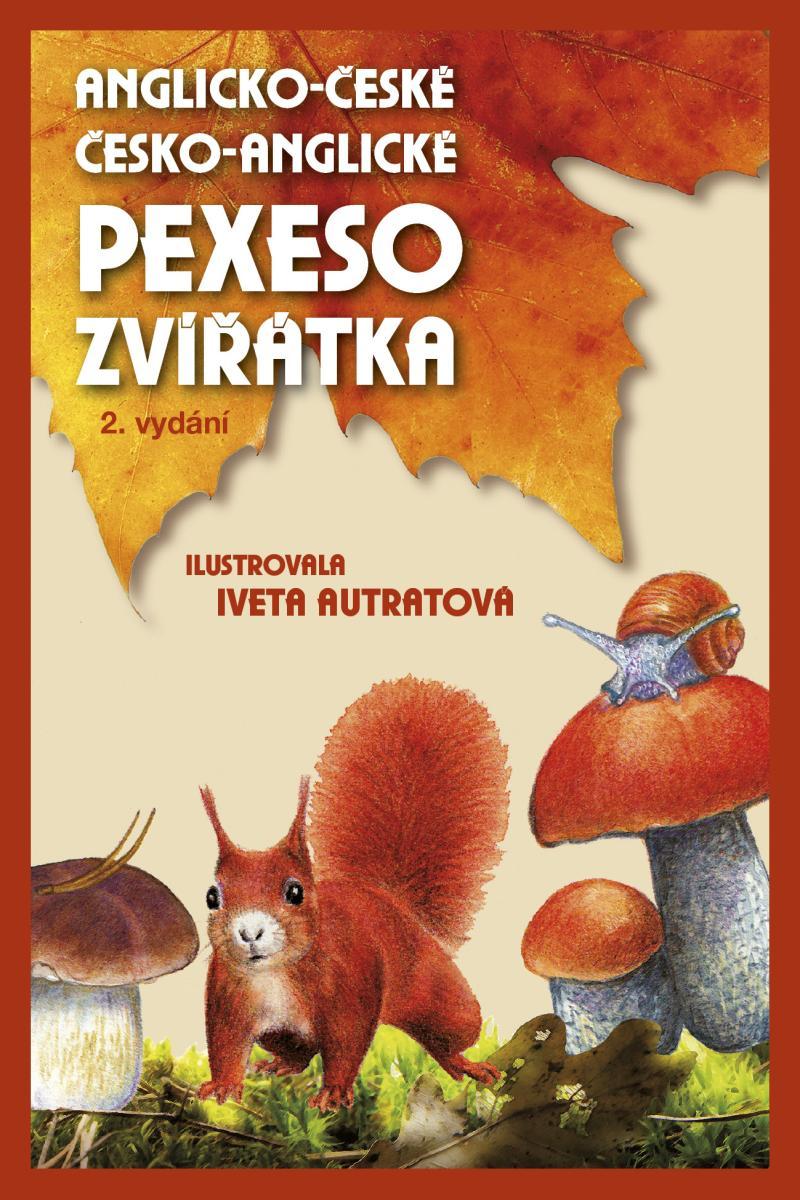 PEXESO ZVÍŘÁTKA ANGLICKO-ČESKÉ, Č-A