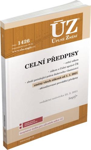 ÚZ 1426 CELNÍ PŘEDPISY/SAGIT