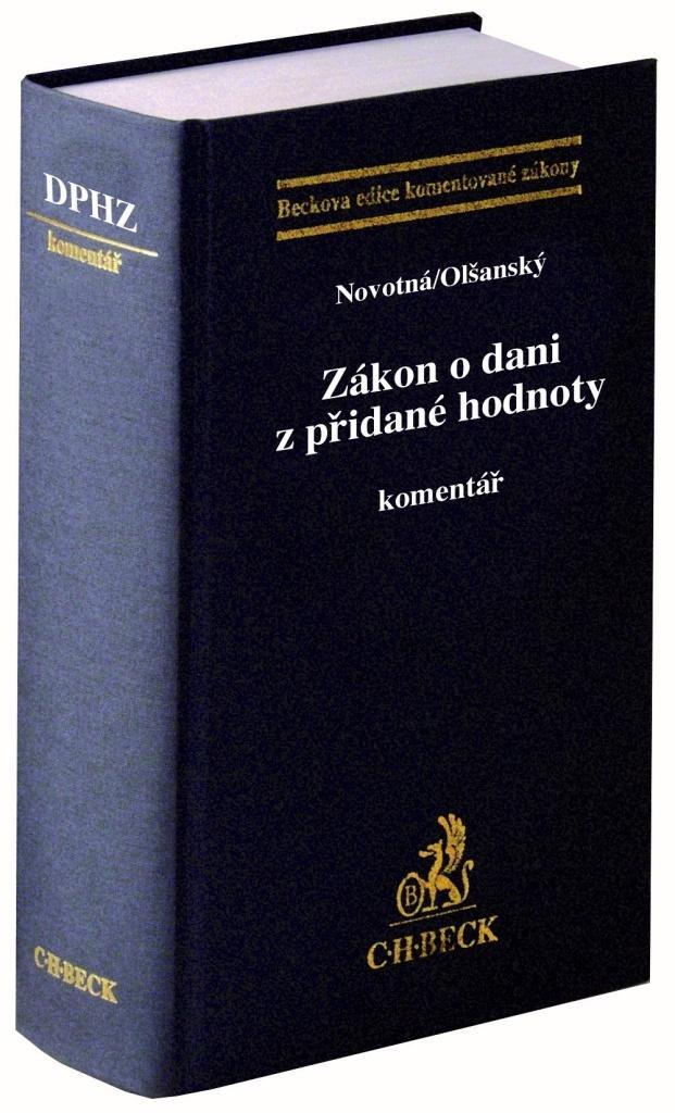 ZÁKON O DANI Z PŘIDANÉ HODNOTY. KOMENTÁŘ