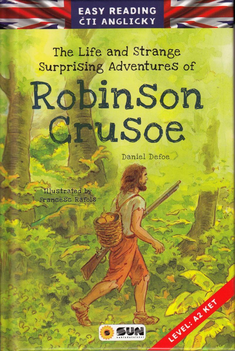 EASY READING ROBINSON CRUSOE