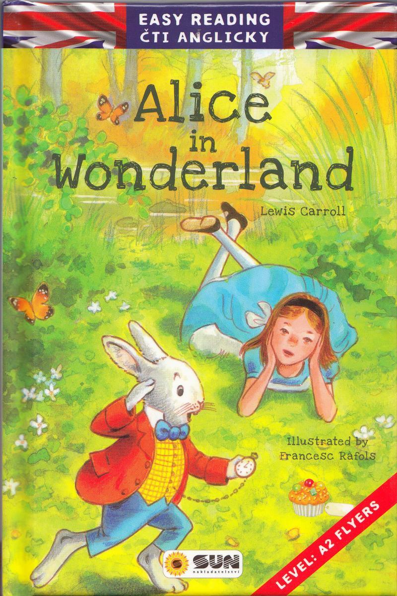 EASY READING ALICE IN WONDERLAND