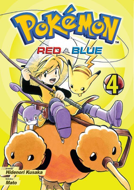 POKÉMON RED A BLUE 4