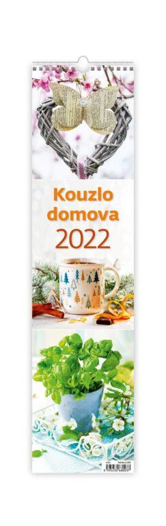 2022 KOUZLO DOMOVA NÁSTĚNNÝ ÚZKÝ