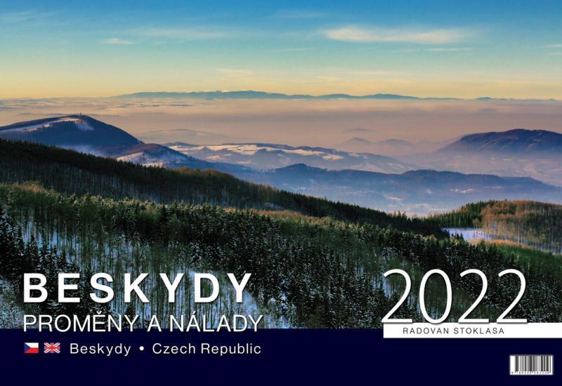 NÁSTĚNNÝ KALENDÁŘ BESKYDY 2022 (STOKLASA RADOVAN)
