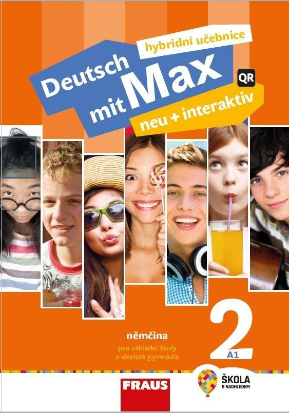 DEUTSCH MIT MAX NEU 2 UČEBNICE + INTERAKTIV