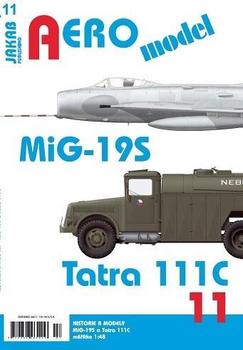 MIG-19S A TATRA 111C (AEROMODEL 11)