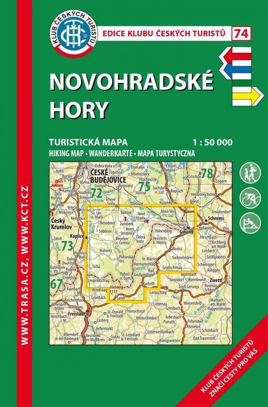 NOVOHRADSKÉ HORY 74/KČT