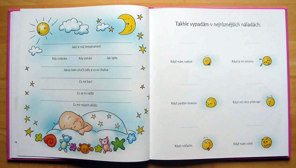 Kniha Naše holčička - První album  dc75f8a5b0