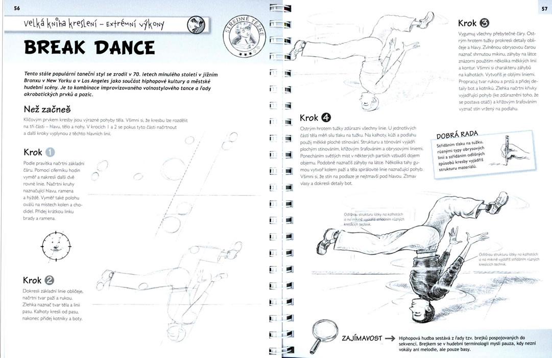 Kniha Velka Kniha Kresleni Pres 80 Kreseb Krok Za Krokem