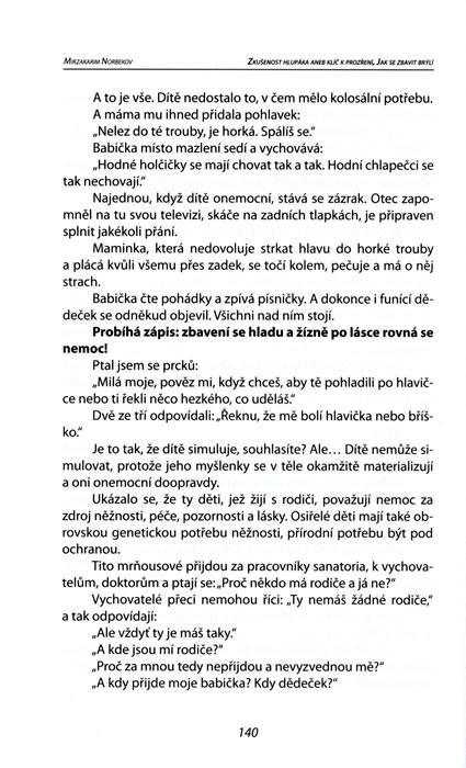 Kniha Zkusenost Hlupaka Aneb Klic K Prozreni Jak Se Zbavit Bryli