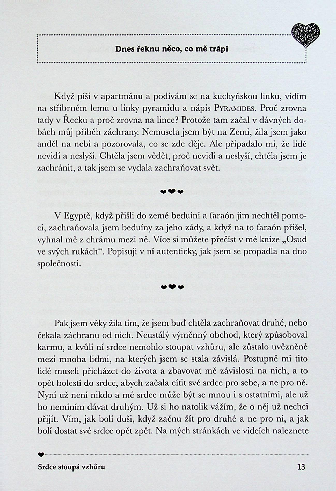 Kniha Srdce Stoupa Vzhuru Knizniklub Cz